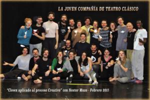 Con La Joven Compañía de Teatro Clásico