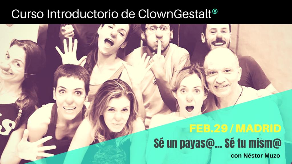 Curso de ClownGestalt® en Madrid